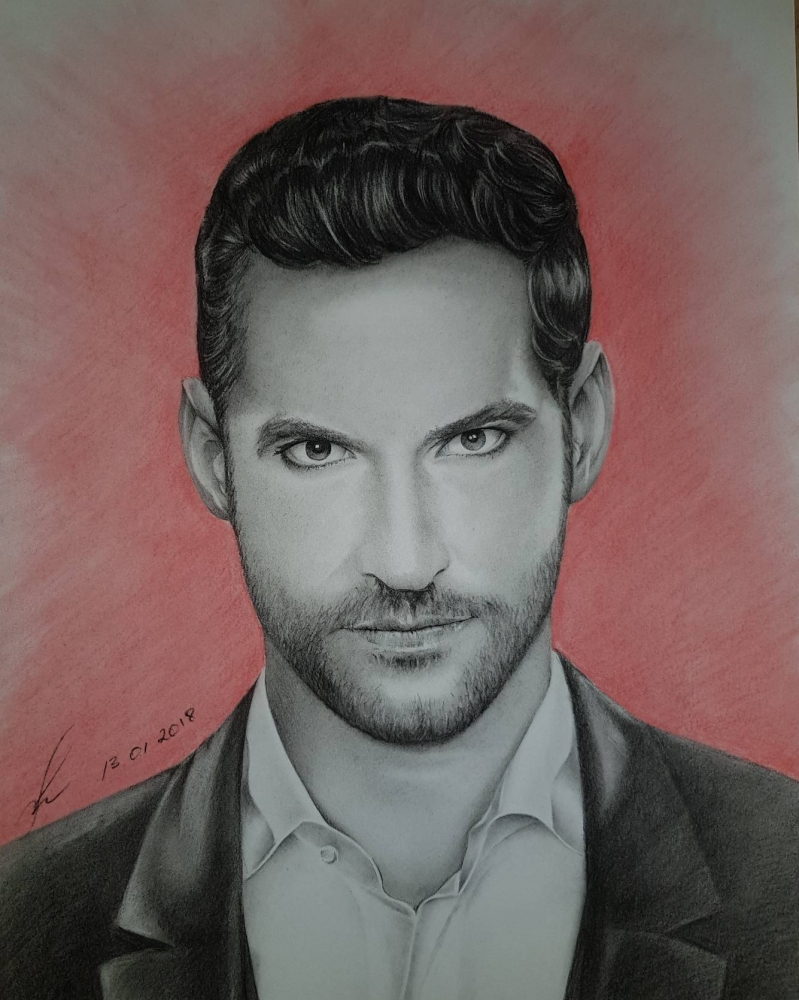 Tom Ellis by TataZalesskaya